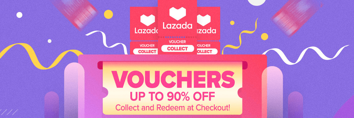collect voucher lazada philipins